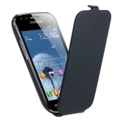 ANYMODE Flip Case for Samsung S7560 Galaxy Trend Black ETUISMS7560 -0