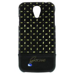 Guess Gianina Back Cover for Samsung i9505 Galaxy S4 Black (EU Blister) GUHCS4PEB -0