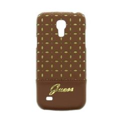 Guess Gianina Back Cover Cognac for Samsung i9195 Galaxy S4mini GUHCS4MPEC -0