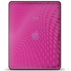 ILUV iCC802PNK iPad TPU Case with Dot Wave (Pink)-0