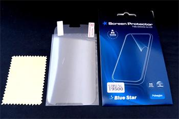 BLUE STAR Screen Guard for Samsung i9500 Galaxy S4-0