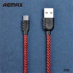 Remax Nylon Data Cable Red microUSB-0