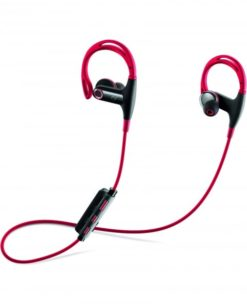 CELLULARLINE FREEDOM IN-EAR - UNIVERSAL RED Ultra-secure in-ear Bluetooth stereo earphones-0