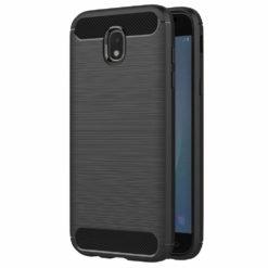 FORCELL Carbon Case για το Samsung Galaxy J3 (2017) - Μαύρο-0