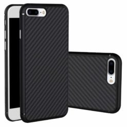 Nillkin Synthetic Fiber Protective Hard Case Carbon Black για το iPhone 7/8 Plus-0
