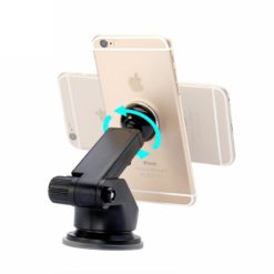 Baseus Solid Series Telescopic Magnetic Car Mount Phone Holder Silver - SULX-0S-27163