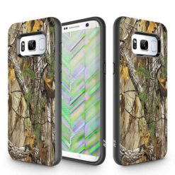 ZIZO SLEEK HYBRID Design Cover w/ Dual Layered Protection For Samsung Galaxy S8 in ZV Blister Packaging - Woods. 1SKHBD-SAMGS8-WD-0