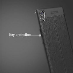 TECH-PROTECT TPULEATHER CASE για το Sony Xperia XA1 Ultra - Μαύρο-31838