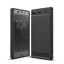 TECH-PROTECT TPU CARBON για το Sony Xperia XZ1 Compact - Μαύρο-0
