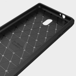 TECH-PROTECT TPU CARBON για το Nokia 3 - Μαύρο-31877