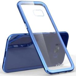 Zizo ATOM Case w/ 9H Tempered Glass Screen Protector and Airframe Grade Aluminum For Samsung Galaxy S8 - BLUE 1ATOM-SAMGS8-BL-0