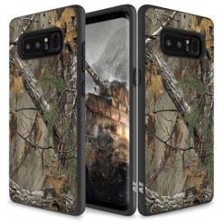ZIZO SLEEK HYBRID Design Cover w/ Dual Layered Protection For Samsung Galaxy Note 8 in ZV Blister Packaging - Woods. 1SKHBD-SAMGN8-WD-0