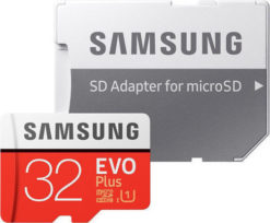 Samsung microSDHC 32GB EVO Plus Class 10 with Adapter (EU Blister) MB-MC32GA/EU-0