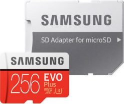 Samsung microSDXC 256GB EVO Plus Class 10 with Adapter (EU Blister) MB-MC256GA/EU-0