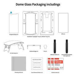 Whitestone Dome Glass Full Cover Screen Protector για το Samsung Galaxy Note 8-32811