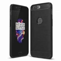 TECH-PROTECT TPU CARBON για το OnePlus 5 - Μαύρο-0