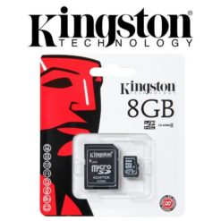 Kingston microSDHC with Adapter 8Gb Class4 - SDC4/8GB 1