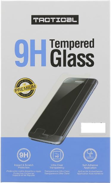 TACTICAL Tempered Glass 2.5D 9H 0.33mm για το Samsung Galaxy A6 - Black