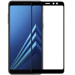 Nillkin Tempered Glass 3D CP+MAX Black για το Samsung Galaxy A8 Plus (2018)