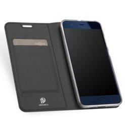 DUX DUCIS Skin Pro Series Flip Leather Wallet για το Xiaomi Mi 6 (Γκρι)