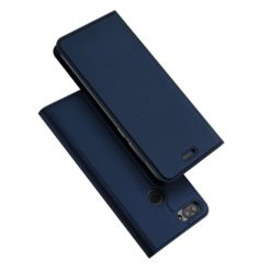DUX DUCIS Skin Pro Series Flip Leather Wallet για το Huawei P Smart (Μπλε)