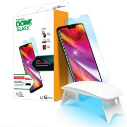 Whitestone Dome Glass Full Cover Screen Protector για το LG G7 Thinq