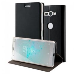 Roxfit Standing Book Case για το Sony Xperia XZ2 Compact Silver - URB5183S