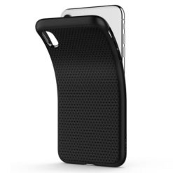 Spigen Liquid Air Case για το iPhone XR Black 064CS24872