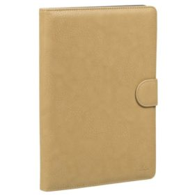 Rivacase 3017 Tablet Case 10.1 Beige PU leather Universal