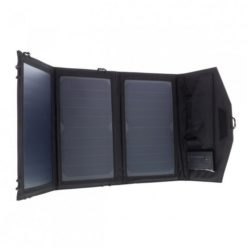Allpowers Foldable Solar Charger 15W with 6000mAh Battery - AP-SP-014-BLA