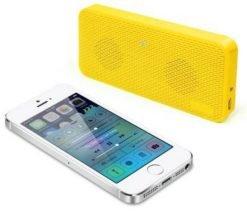 iLuv Portable Bluetooth Speaker Audio Mini - Yellow (AUDMINIYW)