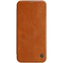 Nillkin Qin Book Case για το Samsung Galaxy J4 Plus - Brown