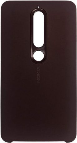 Nokia Soft Touch Case Iron Red για το Nokia 6.1 - CC-505