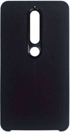 Nokia Soft Touch Case Tempered Blue για το Nokia 6.1 - CC-505