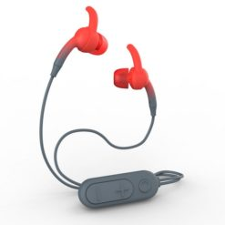 IFROGZ Sound Hub Plugz Wireless Earbuds - Gray/Red
