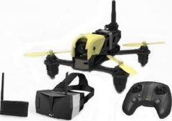 HUBSAN X4 Storm Racing Drone Pack with LCD Screen & Goggles