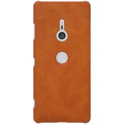 Nillkin Qin Book Case για το Sony Xperia XZ3 - Brown