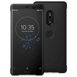 Sony Style Cover Touch για το Xperia XZ3 SCTH70 - Μαύρο