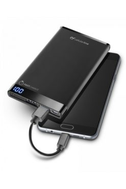 Cellularline FreePower Manta 6000 Power Bank Black - FREEPMANTA6000K