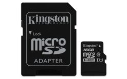 Kingston Canvas Select microSDHC 16GB U1 SDCS/16GB
