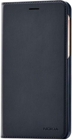 Nokia Slim Flip Cover Tempered Blue για το Nokia 6.1 - CP-308