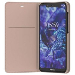 Nokia Entertainment Flip Cover Cream για το Nokia 5.1 Plus - CP-251