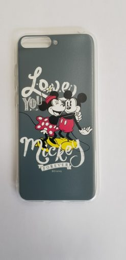 Disney Mickey & Minnie 002 Back Cover Gray for Huawei Y6 2018