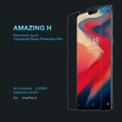 NILLKIN Amazing H 9H Anti-burst tempered glass protective film για το Oneplus 6