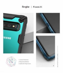 RINGKE FUSION X ΘΗΚΗ ΓΙΑ ΤΟ SAMSUNG GALAXY S10 BLACK
