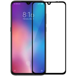 NILLKIN 3D CP+ Max tempered glass screen protector για το Xiaomi Mi9 / Xiaomi Mi9 Explorer (Μαύρο)