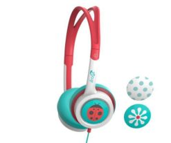 IFROGZ Little Rockerz Costume Headphones - Teal/Coral