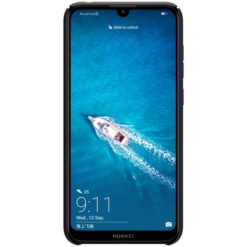 Nillkin Super Frosted Back Cover Black για το Huawei Y7 2019/Y7 Prime 2019 (ΠΕΡΙΛΑΜΒΑΝΕΙ KICKSTAND)
