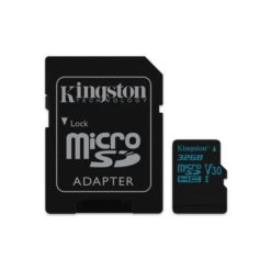 Kingston Canvas Go! microSDHC 32GB U3 V30 with Adapter - SDCG2/32GB