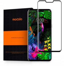 Mocolo 3D Tempered Glass για το LG G8 ThinQ - Black